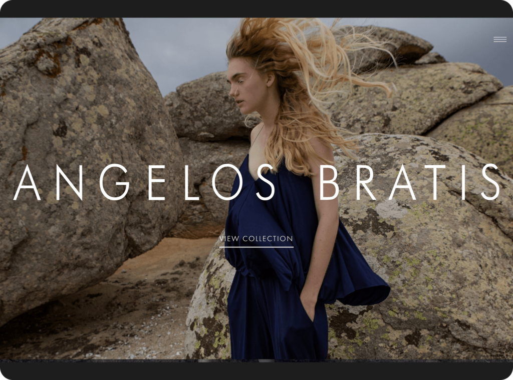 Bratis official Website Greatives Web Design agency in Athens, Greece