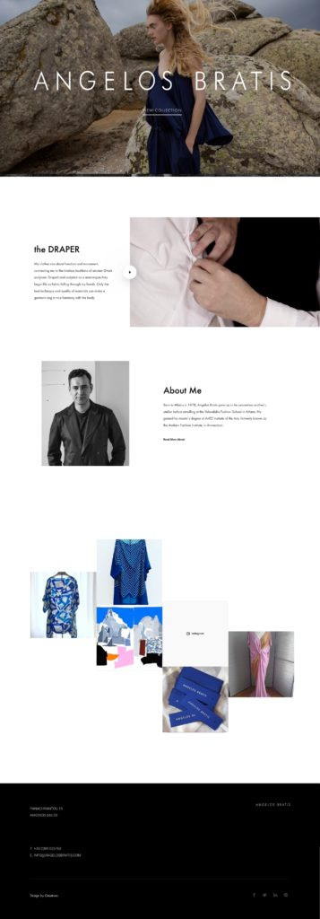 Bratis official website by Greatives Web Design Agency in Athens, Greece