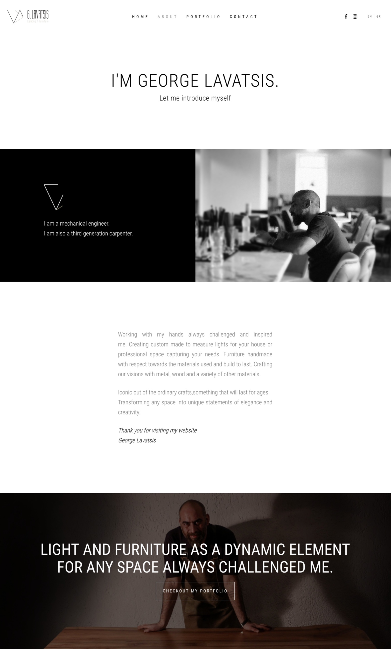 Lavatsis official website by Greatives Web Design Agency in Athens, Greece