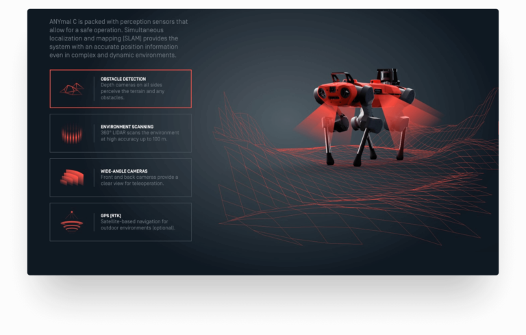 ANYBotics official website redesign by Greatives Web Agency, Athens